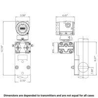 DPT Flat Mounting Bracket MB-F2